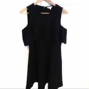 Anthropologie- Nanette Lepore Cold Shoulder Dress